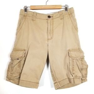 3/$20 AEROPOSTALE Cargo Shorts Men's 30 #1466